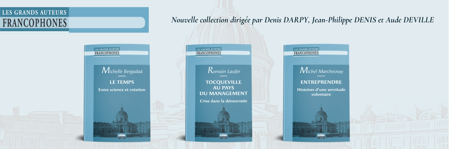 Nouvelle collection Les grands auteurs francophones