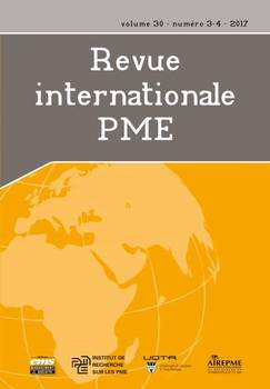 Revue internationale PME Vol.30, N°3-4 (01/07/2017)